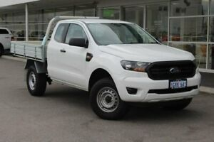 2018 Ford Ranger PX MkIII 2019.00MY XL Super Cab 4x2 Hi-Rider White 6 Speed Sports Automatic