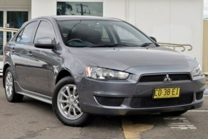 2010 Mitsubishi Lancer CJ MY11 ES Sportback Grey 5 Speed Manual Hatchback North Gosford Gosford Area Preview
