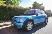 2002 Mini Hatch R53 Cooper S Blue 6 Speed Manual Hatchback Hove Holdfast Bay Preview