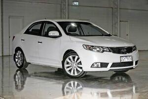 2012 Kia Cerato TD MY12 SLi White 6 Speed Sports Automatic Sedan