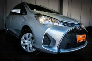 2016 Toyota Yaris NCP130R MY15 Ascent Silver 4 Speed Automatic Hatchback West Perth Perth City Area Preview