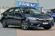 2017 Honda Civic 10th Gen MY17 VTi-S Blue 1 Speed Constant Variable Sedan Ferntree Gully Knox Area Preview