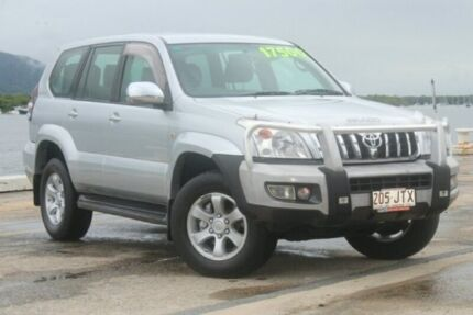 2006 Toyota Landcruiser Prado GRJ120R GXL Silver 5 Speed Automatic Wagon Portsmith Cairns City Preview