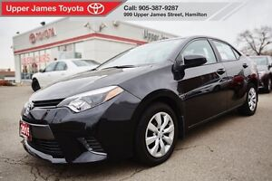 2015 Toyota Corolla LE - Toyota Certified 170-pt Inspected