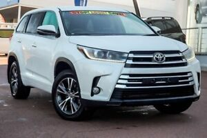 2017 Toyota Kluger GSU50R GX 2WD White Pearl 8 Speed Sports Automatic Wagon Wangara Wanneroo Area Preview