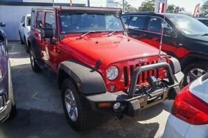 2015 Jeep Wrangler JK MY2015 Unlimited Sport Red 6 Speed Manual Softtop Tweed Heads Tweed Heads Area Preview