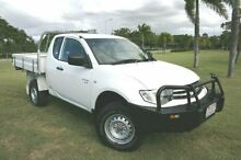2010 Mitsubishi Triton MN MY11 GLX Club Cab White 5 Speed Manual Utility Townsville Townsville City Preview