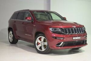 2013 Jeep Grand Cherokee WK MY2014 SRT Red 8 Speed Sports Automatic Wagon Wadalba Wyong Area Preview