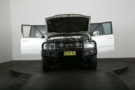 2005 Toyota Landcruiser HDJ100R Sahara (4x4) White 5 Speed Automatic Wagon McGraths Hill Hawkesbury Area Preview