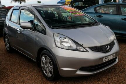 2008 Honda Jazz GD VTi Silver 7 Speed Constant Variable Hatchback Colyton Penrith Area Preview