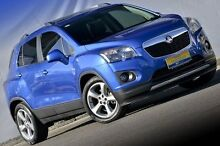 2014 Holden Trax TJ MY15 LTZ Blue 6 Speed Automatic Wagon Ferntree Gully Knox Area Preview