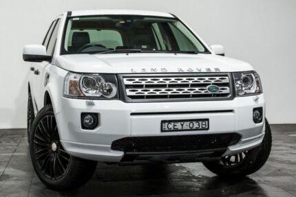 2012 Land Rover Freelander 2 LF MY12 Si6 SE White 6 Speed Sports Automatic Wagon