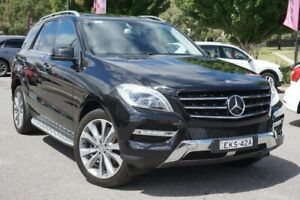 2012 Mercedes-Benz M-Class W166 ML350 BlueTEC 7G-Tronic + Black 7 Speed Sports Automatic Wagon Phillip Woden Valley Preview