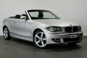 2009 BMW 120i E88 120i Silver 6 Speed Automatic Convertible Bayswater Bayswater Area Preview