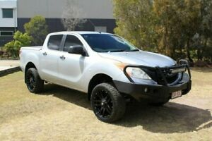 2011 Mazda BT-50 UP0YF1 XT 4x2 Hi-Rider Silver 6 Speed Sports Automatic Utility Ormeau Gold Coast North Preview