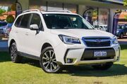 2017 Subaru Forester S4 MY17 XT CVT AWD Premium White 8 Speed Constant Variable Wagon Victoria Park Victoria Park Area Preview
