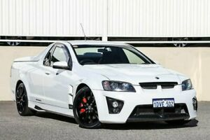2009 Holden Special Vehicles Maloo E Series MY08 Upgrade R8 White 6 Speed Manual Utility