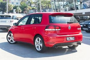 2011 Volkswagen Golf VI MY11 GTI DSG Tornado Red 6 Speed Sports Automatic Dual Clutch Hatchback Brookvale Manly Area Preview