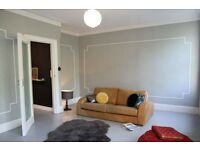 great large double bedroom in a victorian flat in willesden green with a garden for £665 a month