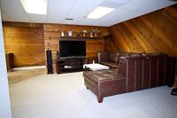 2 bedrooms in the basement ready for rent for