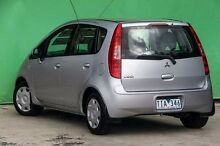 2005 Mitsubishi Colt RG LS Silver 1 Speed Constant Variable Hatchback Ringwood East Maroondah Area Preview