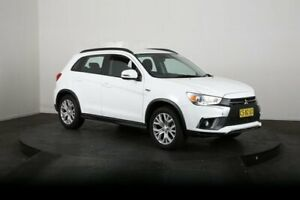 2019 Mitsubishi ASX XC MY19 ES ADAS ( 2WD) White Continuous Variable Wagon McGraths Hill Hawkesbury Area Preview