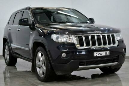 2011 Jeep Grand Cherokee WK Limited Dark Blue Sports Automatic Wagon