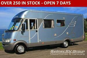 U3183 LUXURY Mercedes Hymer, Quality European A Class Motorhome Penrith Penrith Area Preview