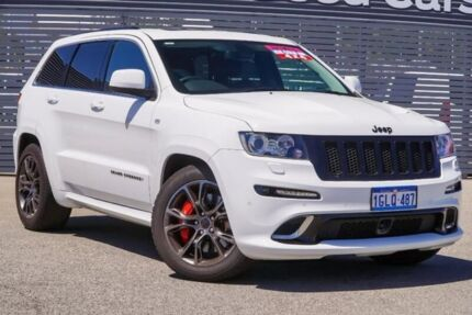 2012 Jeep Grand Cherokee WK MY2013 SRT-8 White 5 Speed Sports Automatic Wagon