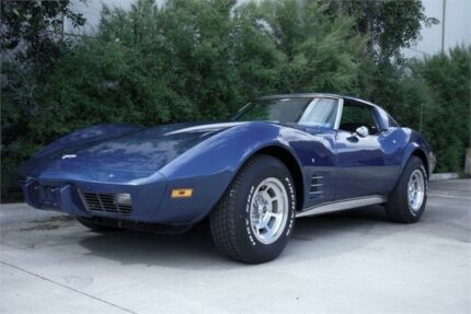 1977 Chevrolet Corvette Stingray Blue 4 Speed Manual Coupe Rutherford Maitland Area Preview