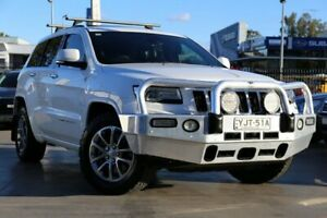 2015 Jeep Grand Cherokee WK MY15 Overland White 8 Speed Sports Automatic Wagon Penrith Penrith Area Preview
