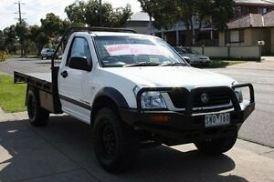 2003 Holden Rodeo RA LX White 5 Speed Manual Cab Chassis Altona North Hobsons Bay Area Preview