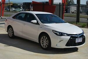 2016 Toyota Camry AVV50R Atara S White 1 Speed Constant Variable Sedan Kenwick Gosnells Area Preview