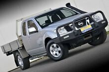 2011 Nissan Navara D40 MY11 ST-X King Cab White 6 Speed Manual Cab Chassis Ferntree Gully Knox Area Preview
