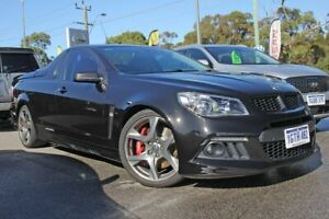 2015 Holden Special Vehicles Maloo Gen-F MY15 R8 Black 6 Speed Manual Utility