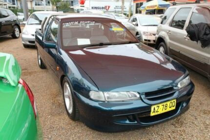 1996 Holden Commodore VSII Ute Green 4 Speed Automatic Utility Minchinbury Blacktown Area Preview