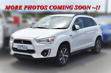 2014 Mitsubishi ASX XB MY15 LS 2WD White 6 Speed Constant Variable Wagon Pakenham Cardinia Area Preview