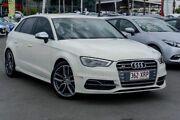 2013 Audi S3 8V MY14 Sportback S tronic quattro Amalfi White 6 Speed Sports Automatic Dual Clutch Robina Gold Coast South Preview