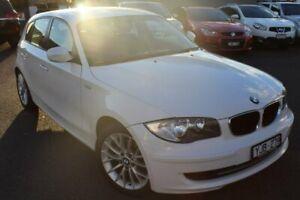 2011 BMW 118i E87 MY11 White 6 Speed Automatic Hatchback Preston Darebin Area Preview