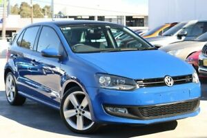 2014 Volkswagen Polo 6R MY14 77TSI DSG Comfortline Blue 7 Speed Sports Automatic Dual Clutch Liverpool Liverpool Area Preview