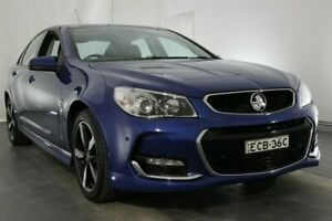 2017 Holden Commodore VF II MY17 SV6 Blue 6 Speed Sports Automatic Sedan Maryville Newcastle Area Preview