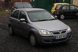 Vauxhall Corsa 1.2 (Cheap car with MOT)
