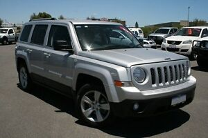 2013 Jeep Patriot MK MY14 Limited Silver 6 Speed Auto Seq Sportshift Wagon Hillman Rockingham Area Preview