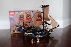 Complete Lego Pirates Imperial Flagship (Set 6271)