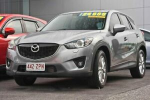 2014 Mazda CX-5 KE1021 MY14 Grand Touring SKYACTIV-Drive AWD Silver 6 Speed Sports Automatic Wagon Capalaba Brisbane South East Preview