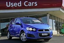 2015 Holden Barina TM MY16 CD Boracay Blue 6 Speed Automatic Hatchback Liverpool Liverpool Area Preview