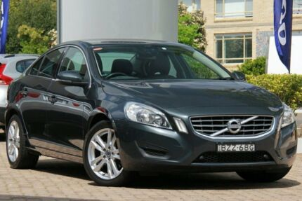 2012 Volvo S60 F MY12 T5 Grey 6 Speed Auto Dual Clutch Sedan Lindfield Ku-ring-gai Area Preview