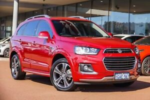 2016 Holden Captiva CG MY16 LTZ AWD Red 6 Speed Sports Automatic Wagon Gosnells Gosnells Area Preview