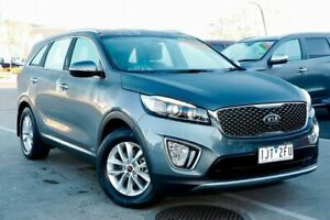 2017 Kia Sorento UM MY17 Si AWD Grey 6 Speed Sports Automatic Wagon Strathmore Heights Moonee Valley Preview