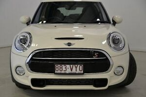 2015 Mini Hatch F55 Cooper S White 6 Speed Automatic Hatchback Mansfield Brisbane South East Preview